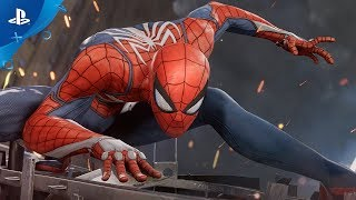 【E3】縦横無尽に空を飛ぶ!『スパイダーマン』がPS4で登場!カメラワークが映画みたい!