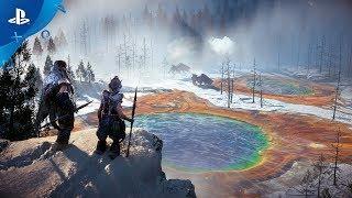 """【楽しみ】『Horizon Zero Dawn』の DLC""""The Frozen Wilds"""" は2017年内に配信予定!雪で閉ざされた地域が舞台。"""